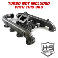H&S 122003 2011-2016 Ford 6.7L Turbo Kit W/O Turbo (Undivided)