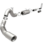 "Magnaflow 15910 Exhaust System Turbo-Back 4"" SS tubing"