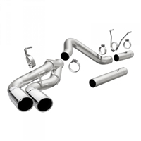 "MAGNAFLOW 17875 4"" PRO SERIES DUAL FILTER-BACK EXHAUST SYSTEM"