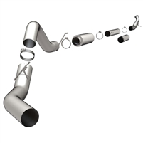 "Magnaflow 18921 5"" Turbo-Back Aluminized Custom Builder Pipe Kit"