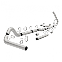 "MAGNAFLOW 18945 4"" TURBO-BACK ALUMINIZED CUSTOM BUILDER PIPE KIT"