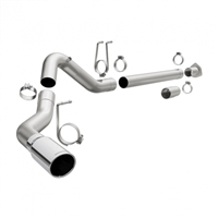"MAGNAFLOW 18949 4"" ALUMINIZED PRO SERIES FILTER-BACK EXHAUST SYSTEM"