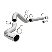"MAGNAFLOW 18950 5"" ALUMINIZED PRO SERIES FILTER-BACK EXHAUST SYSTEM"
