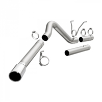 "MAGNAFLOW 18953 4"" ALUMINIZED PRO SERIES FILTER-BACK EXHAUST SYSTEM"