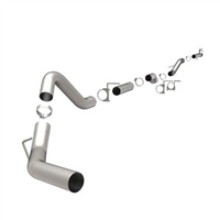 "MAGNAFLOW 4"" DOWNPIPE-BACK ALUMINIZED CUSTOM BUILDER PIPE KIT 18980"
