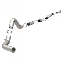 "MAGNAFLOW 5"" DOWNPIPE-BACK ALUMINIZED CUSTOM BUILDER PIPE KIT 18982"