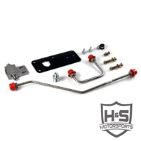 H&S 453002-67 2007-2016 Dodge 6.7L Dual High-Pressure Fuel Line Assembly