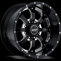 BMF Wheels Novakane Death Metal Black 20x9 8x6.5