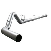 "aFe 49-03039NM ATLAS 5"" Downpipe-Back Exhaust System no muffler"