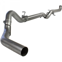"AFE 49-04002 ATLAS 4"" DOWNPIPE-BACK RACE EXHAUST SYSTEM 2007.5-2010 GM 6.6L DURAMAX LMM (ALL CABS & BEDS) NO MUFFLER"
