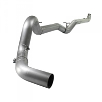 "AFE 49-04033NM ATLAS 5"" DOWNPIPE-BACK NO MUFFLER RACE EXHAUST SYSTEM 2007.5-2010 GM 6.6L DURAMAX LMM NO MUFFLER"
