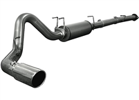 aFe 49-13029 Large Bore HD Downpipe Back Exhaust ss-409