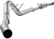 "aFe MACH Force XP 5"" Down-pipe exhaust system 49-43039"