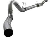 "aFe MACH Force XP 5"" w/ muffler exhaust system 49-43040"