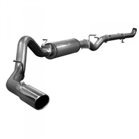 "AFE 49-44017 MACH FORCE XP 4"" DOWN-PIPE BACK RACE EXHAUST SYSTEM"