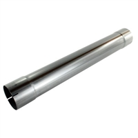 "AFE 49-91003 4"" MACH FORCE XP ALUMINIZED MUFFLER DELETE PIPE"
