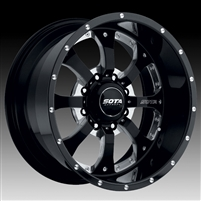 SOTA Wheel Novakane Death Metal 22x10.5 8x6.5