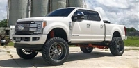 "McGaughy's  6"" Premium Black Stainless Steel Lift Kit Phase 2 for 2017-2020 Ford F-350 (4WD)"