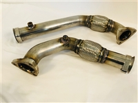 SDP 2008-2010 6.0 Manifold to 6.4 Turbo Conversion Up Pipes