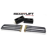 Ready Lift 2'' REAR BLOCK KIT - GM SILVERADO / SIERRA 2500 HD OEM STYLE 2011-2018