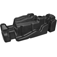TITAN 7030113 52 GALLON MID-SHIP REPLACEMENT FUEL TANK 2013-2020 RAM 6.7L CUMMINS 4WD (CREW CAB, SHORT BED)