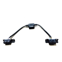 AMP RESEARCH 76404-01A PLUG-N-PLAY PASS THROUGH HARNESS