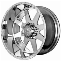American Force 8x200mm Classic Series Polished Wheels 19.5x6.75 (set of 4)