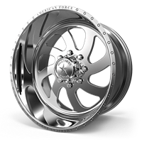 American Force Blade SS8 8x6.5 Series Polished Wheels 22x12 (set of 4)