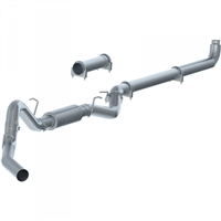 "P1 C6004P 2007.5-2010 Duramax 4"" PERFORMANCE SERIES DOWNPIPE-BACK COMPETITION EXHAUST"