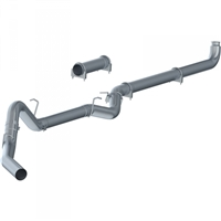 "P1 C6004PLM 2007-2010 Duramax 4"" PLM SERIES DOWNPIPE-BACK COMPETITION EXHAUST"