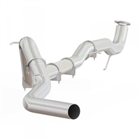 "MBRP C6045SLM 2015.5-2016 Duramax 4"" SLM SERIES DOWNPIPE-BACK COMPETITION EXHAUST SYSTEM"