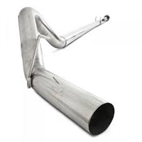 "P1 C6260PLM 4"" PLM Series Downpipe-Back Competition Exhaust System 2011-2016 Ford Powerstroke"