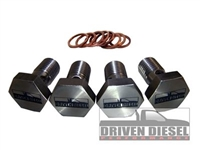 Driven Diesel High Flow Banjo Bolt Kit 4 Bolt