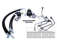 Driven Diesel 6.0L Fuel Bowl Delete Regulated Return Fuel System Kit