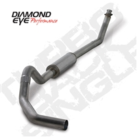 "1998.5-2002 - DODGE 5.9L 24V CUMMINS DIESEL 4"" T409 STAINLESS STEEL - PERFORMANCE DIESEL EXHAUST KIT - TURBO BACK SINGLE"