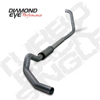 "DIAMOND EYE 2003-2007 6.0L 5"" STAINLESS W/ MUFFLER TURBO BACK SINGLE"