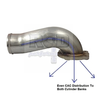 RCD Stainless Steel Intake Elbow