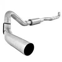 "MBRP S6004P 2001-2007 Duramax 4"" PERFORMANCE SERIES DOWNPIPE-BACK EXHAUST SYSTEM"