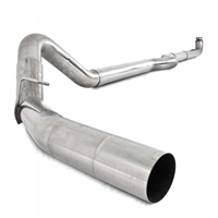 "MBRP S6004SLM 2001-2007 Duramax 4"" SLM SERIES DOWNPIPE-BACK EXHAUST SYSTEM"