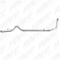 "MBRP S6200PLM 1999-2003 Ford 7.3L 4"" PLM series Turbo-Back exhaust system S6200PLM"