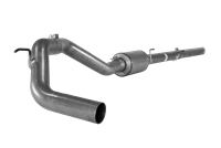 "Flo Pro 4"" Downpipe Back Exhaust Kit-Stainless w/ Muffler"
