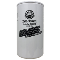 FASS Fuel System EXTENDED LENGTH EXTREME WATER SEPARATOR