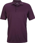 Adidas Men's Performance Polo Red Night