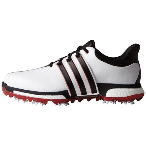 4a0cf06835e79 Adidas Tour 360 Boost FTWR White Core Black Power Red