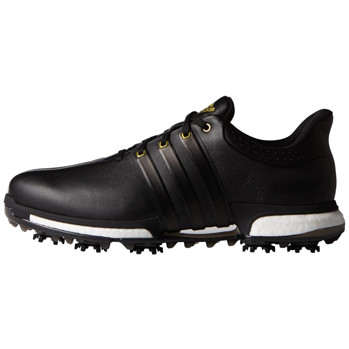 Adidas Tour 360 Boost Black/Gold Metallic