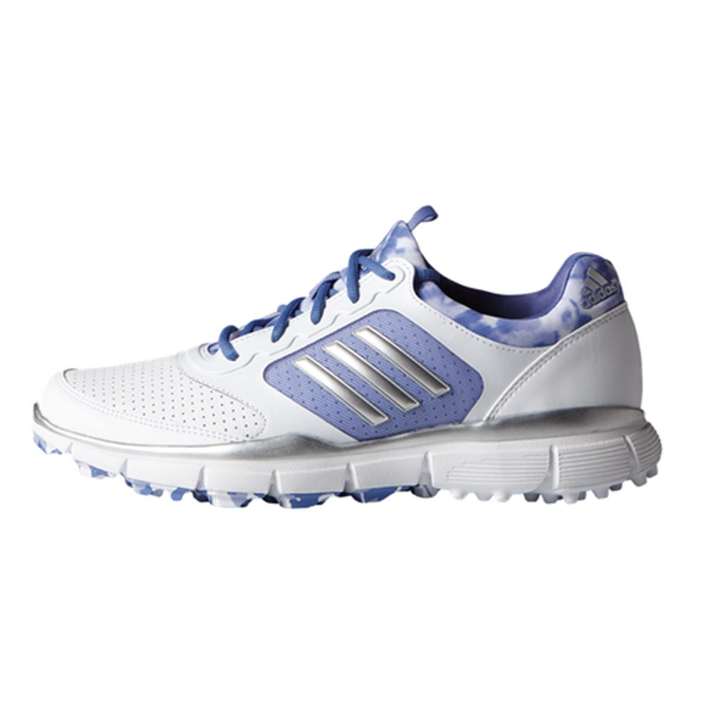 1ebff3a6146 Adidas Women s Adistar Sport White Silver Metallic Baja Blue