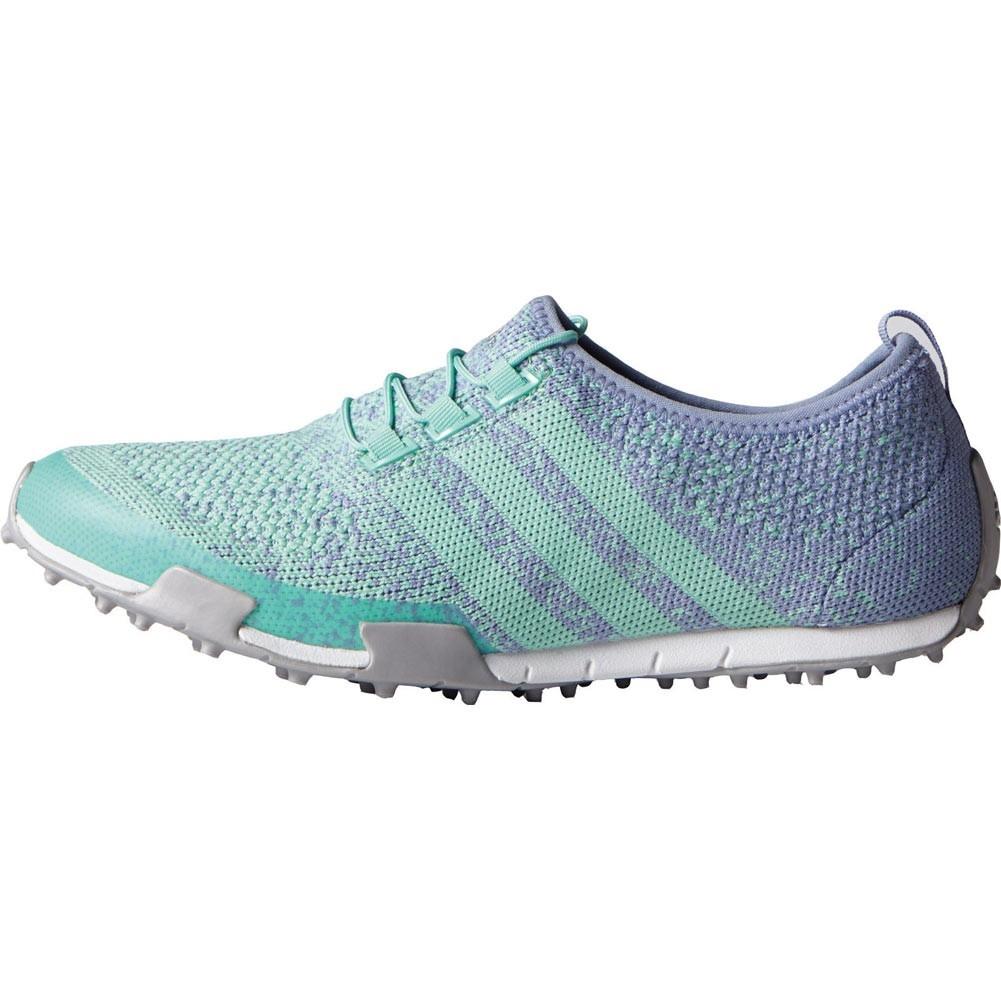 Adidas Women's Ballerina Primeknit Mint Burst/Lavender Mist/Silver Metallic