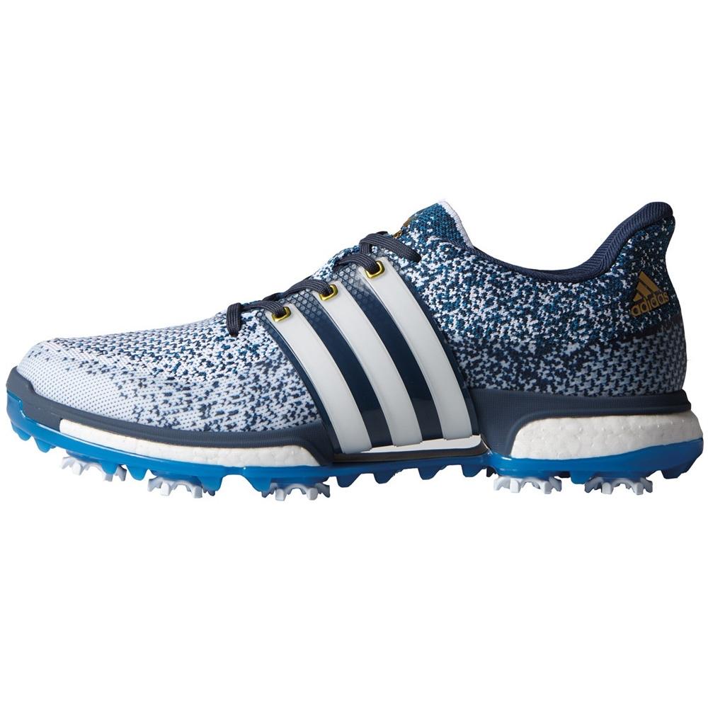 b517a254294c Adidas Tour 360 Prime Boost White Shock Blue Mineral Blue