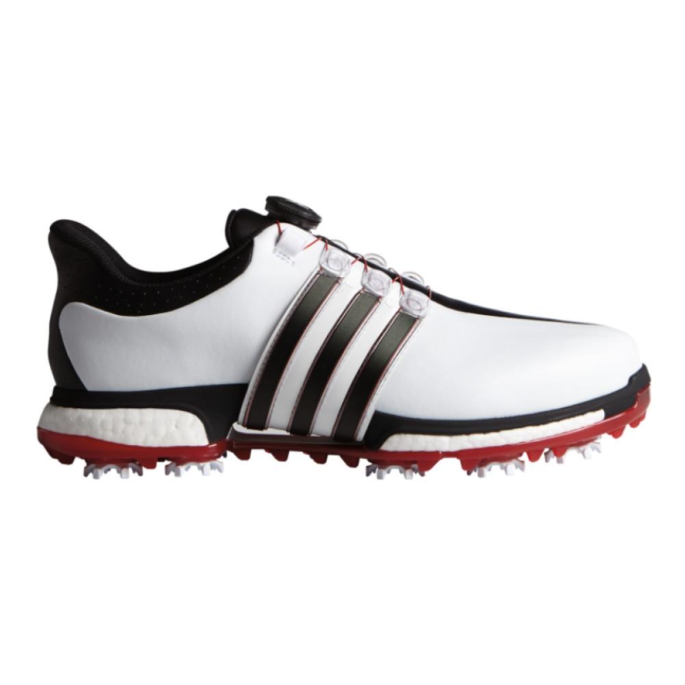 fa440d98f87 Adidas Tour 360 BOA Boost White Core Black Power Red