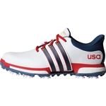 Adidas Tour 360 Boost USA FTWR White/Mineral Blue/Scarlet